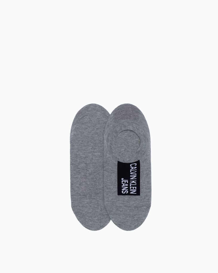 CALVIN KLEIN LOGO COTTON LINER SOCKS 4 PACK