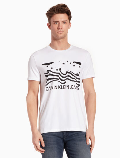 CALVIN KLEIN INSTITUTIONAL GRAPHIC TEE