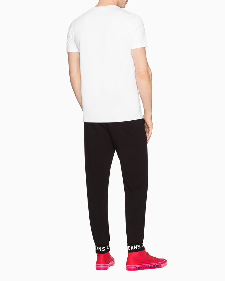 CALVIN KLEIN INSTITUTIONAL LOGO JOGGERS