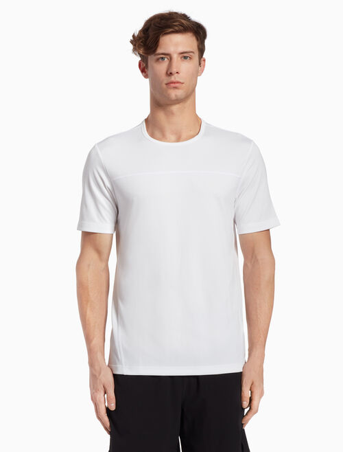 CALVIN KLEIN SHORT-SLEEVE TEE WITH BONDED SEAMS