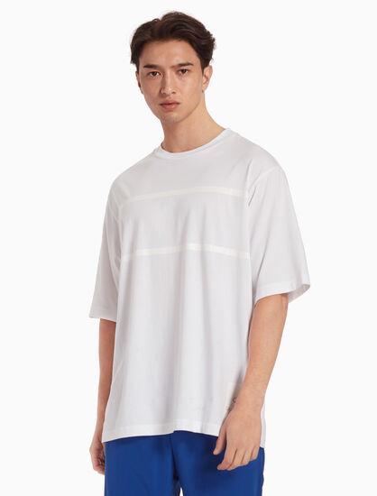 CALVIN KLEIN RELAXED STRIPE 티셔츠