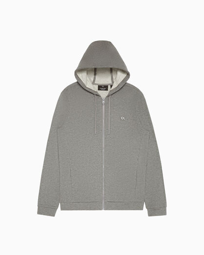 CALVIN KLEIN STATEMENT ESSENTIALS 拉鍊連帽外套