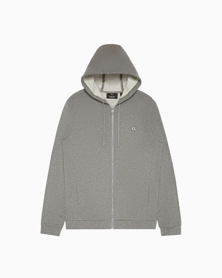 CALVIN KLEIN STATEMENT ESSENTIALS ZIP UP HOODIE