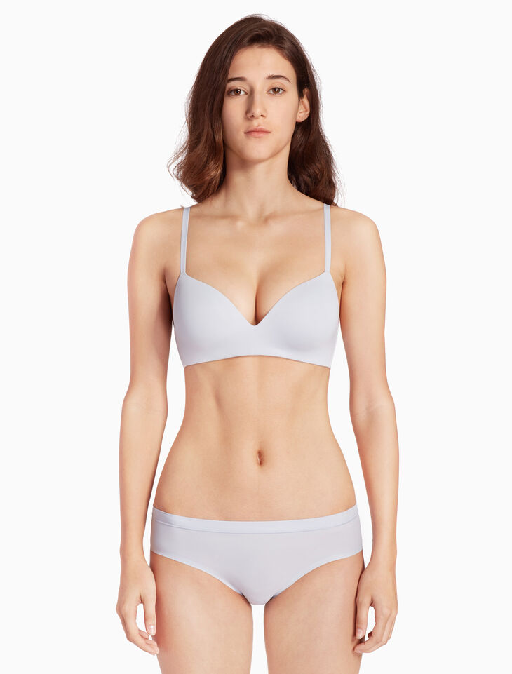 CALVIN KLEIN FORM LIGHTLY LINED デミブラ