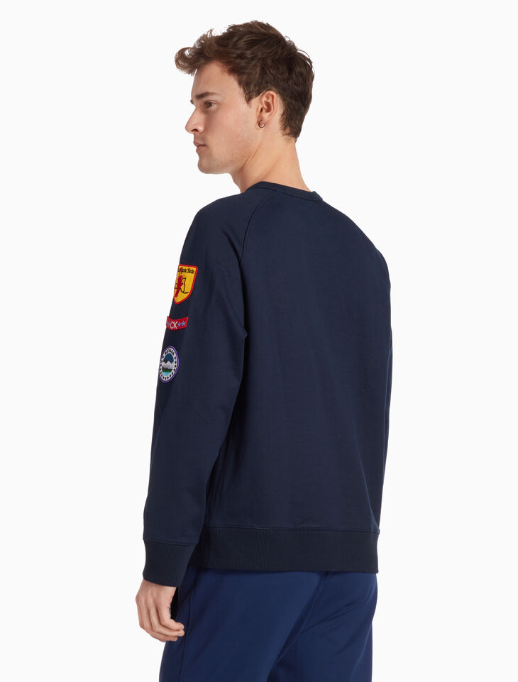 CALVIN KLEIN FRENCH TERRY PULLOVER SWEATSHIRT