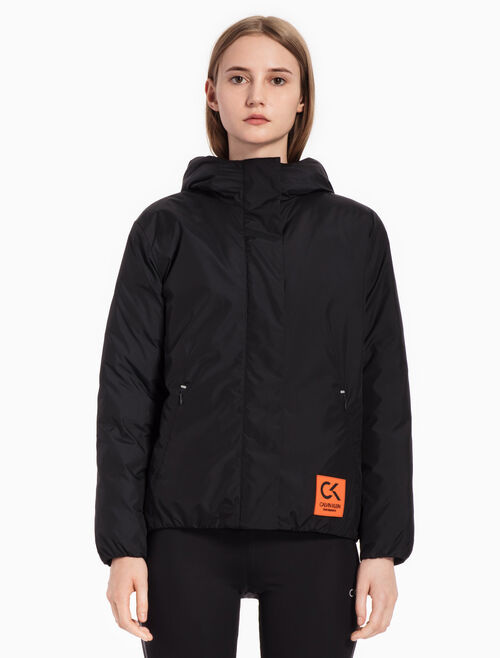 CALVIN KLEIN COLOR BLOCK DOWN JACKET