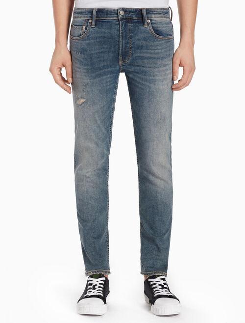 CALVIN KLEIN BENDIGO BLUE 微彈貼身牛仔褲