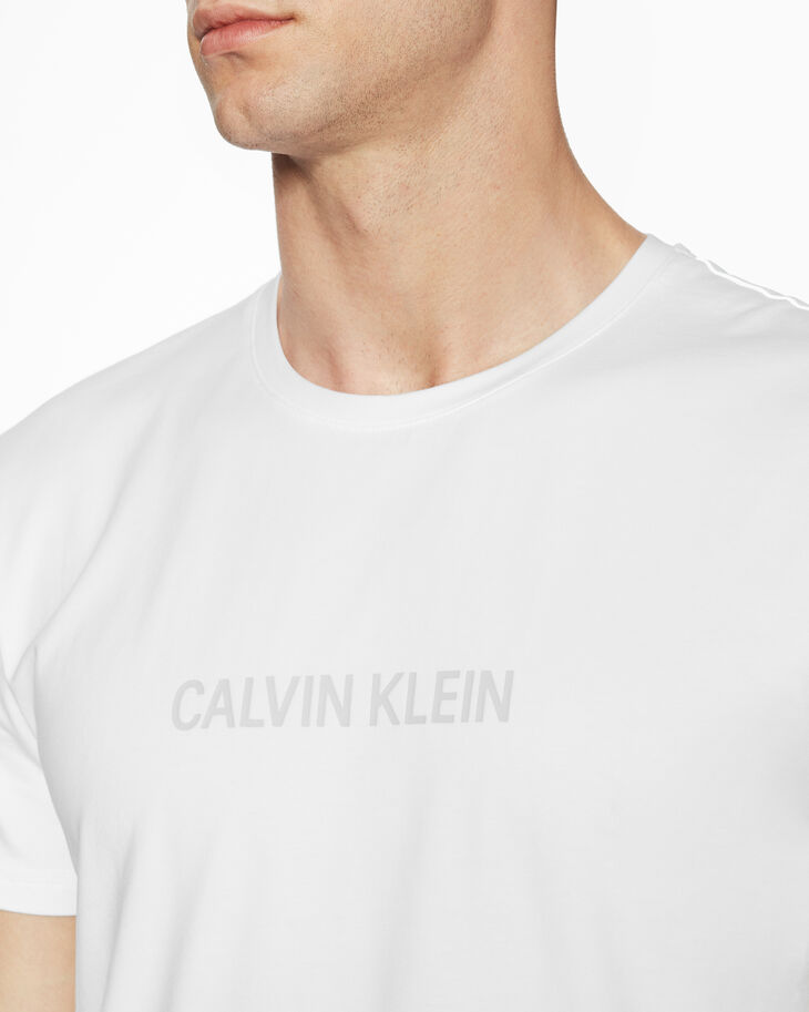 CALVIN KLEIN INSTITUTIONAL GLOSSY LOGO 티셔츠