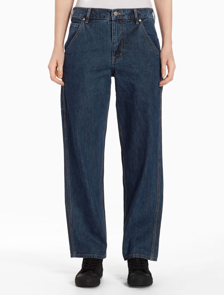 CALVIN KLEIN RELAXED CARPENTER JEANS