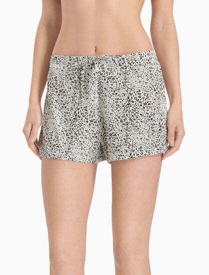 CALVIN KLEIN WOVEN VISCOSE SLEEP SHORTS