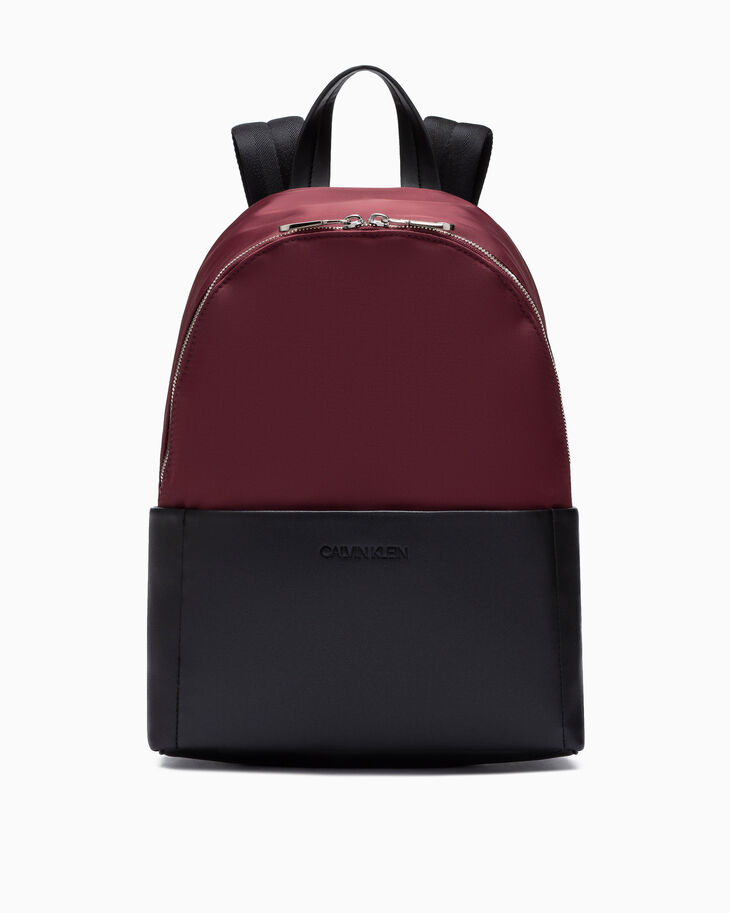 CALVIN KLEIN SLEEK NYLON CITY BACKPACK 35