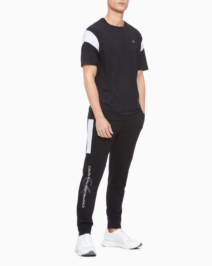 CALVIN KLEIN PERFORMANCE ICON COLOR BLOCK SWEATPANTS