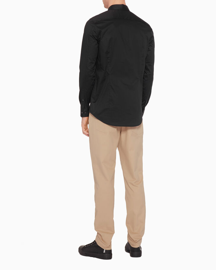 CALVIN KLEIN 슬림 긴소매 셔츠