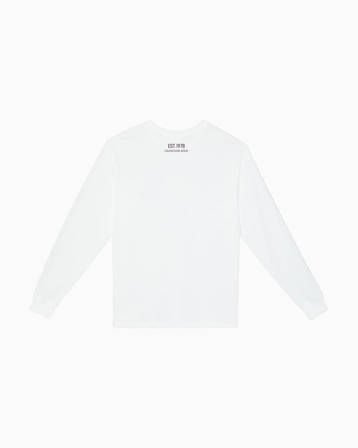CALVIN KLEIN GRAPHIC PRINT LONG SLEEVE TEE