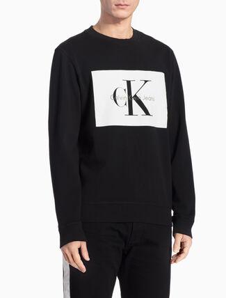 CALVIN KLEIN レギュラーフィット ロゴスウェットシャツ