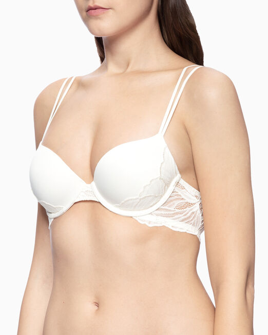 CALVIN KLEIN PERFECT COVERAGE IRIS LACE BRA