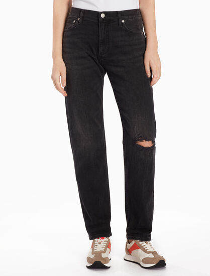 CALVIN KLEIN CKJ 061 WOMEN DISTRESSED JEANS
