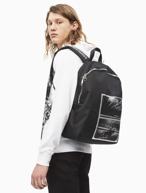 CALVIN KLEIN WARHOL ART PRINT BACKPACK