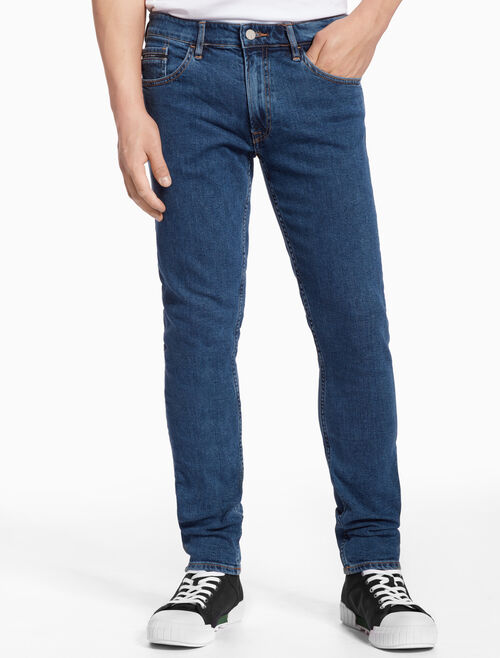 CALVIN KLEIN STRAIGHT TAPERED JEANS