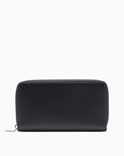 CALVIN KLEIN LOGO POP ZIP AROUND WALLET