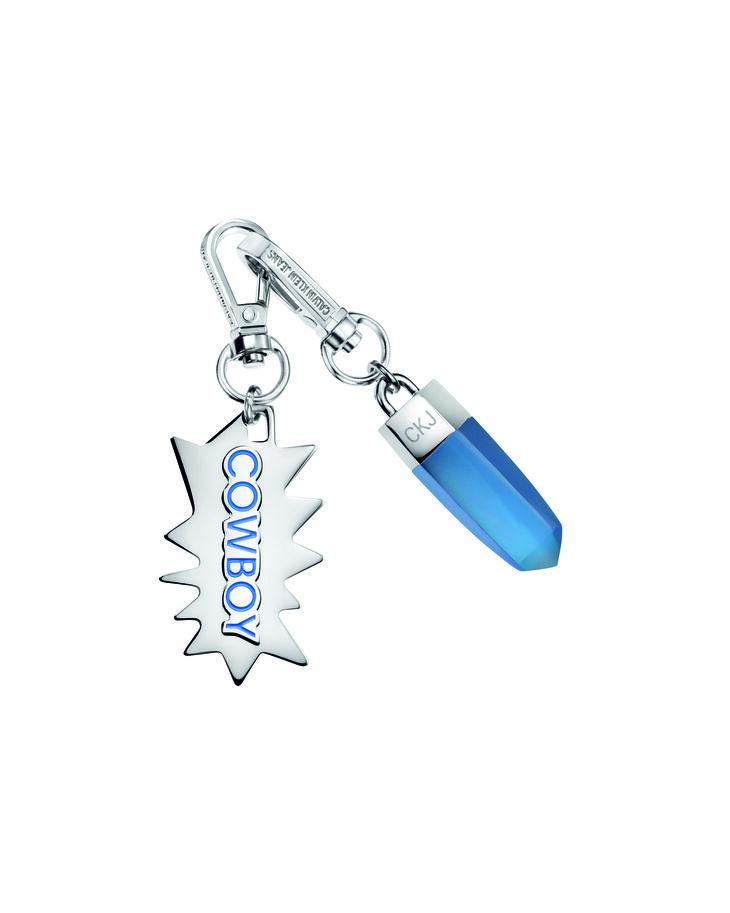 CALVIN KLEIN BLUE RESIN COWBOY CHARM