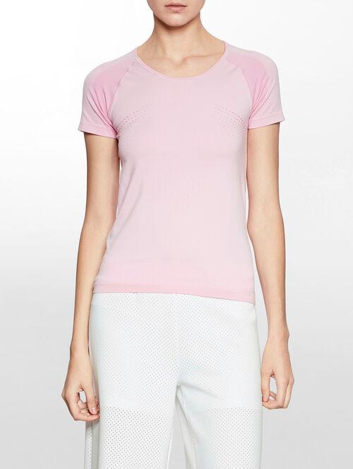 CALVIN KLEIN シームレス ショートスリーブ Tシャツ