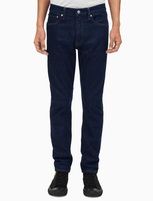 CALVIN KLEIN Warhol Portrait 丹寧運動窄管牛仔褲