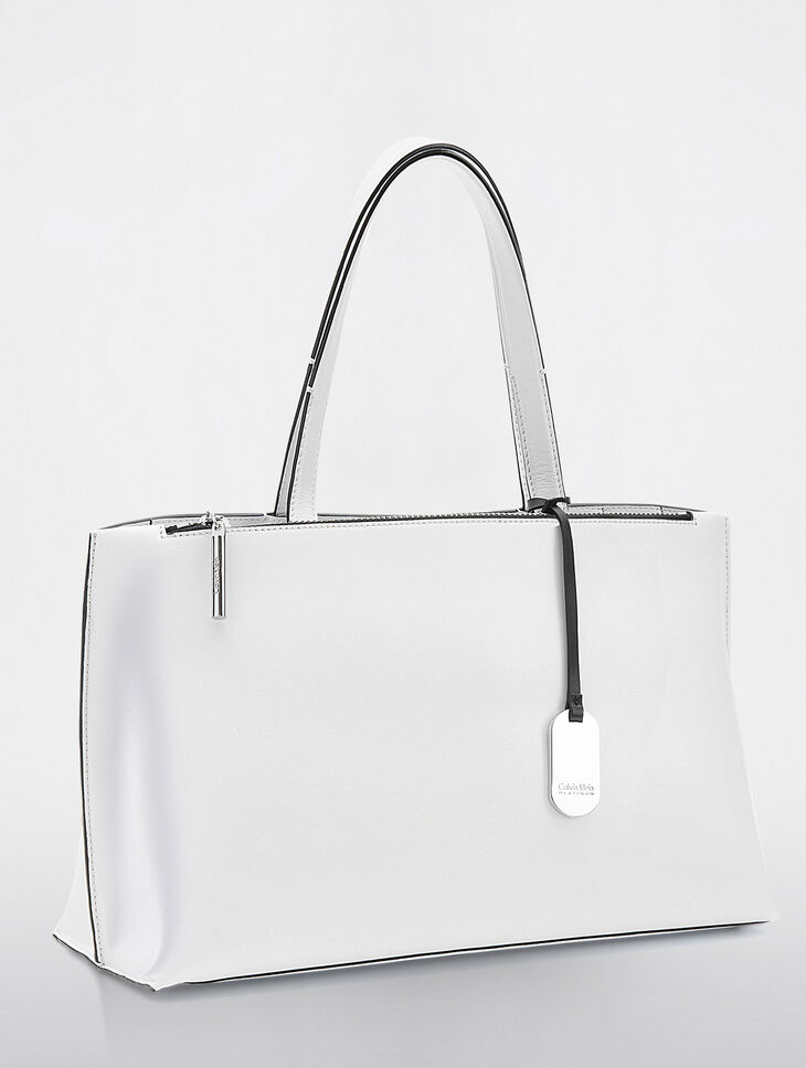 CALVIN KLEIN EDGED EAST/WEST TOTE