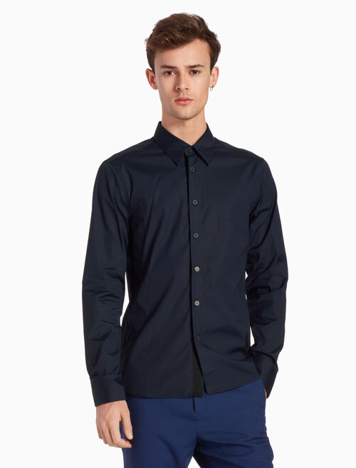 CALVIN KLEIN CLEAN COTTON STRETCH SHIRT