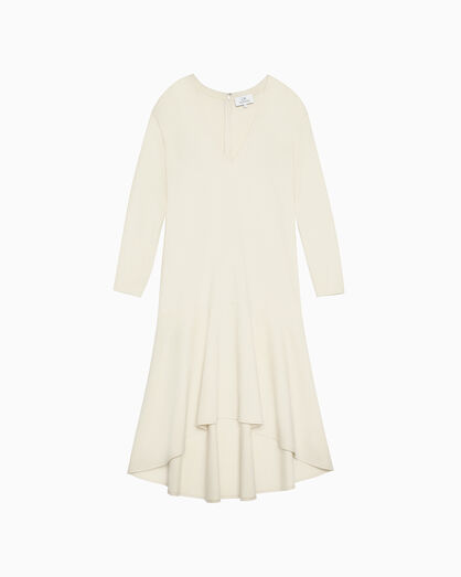 CALVIN KLEIN LIGHTWEIGHT FLARE DRESS