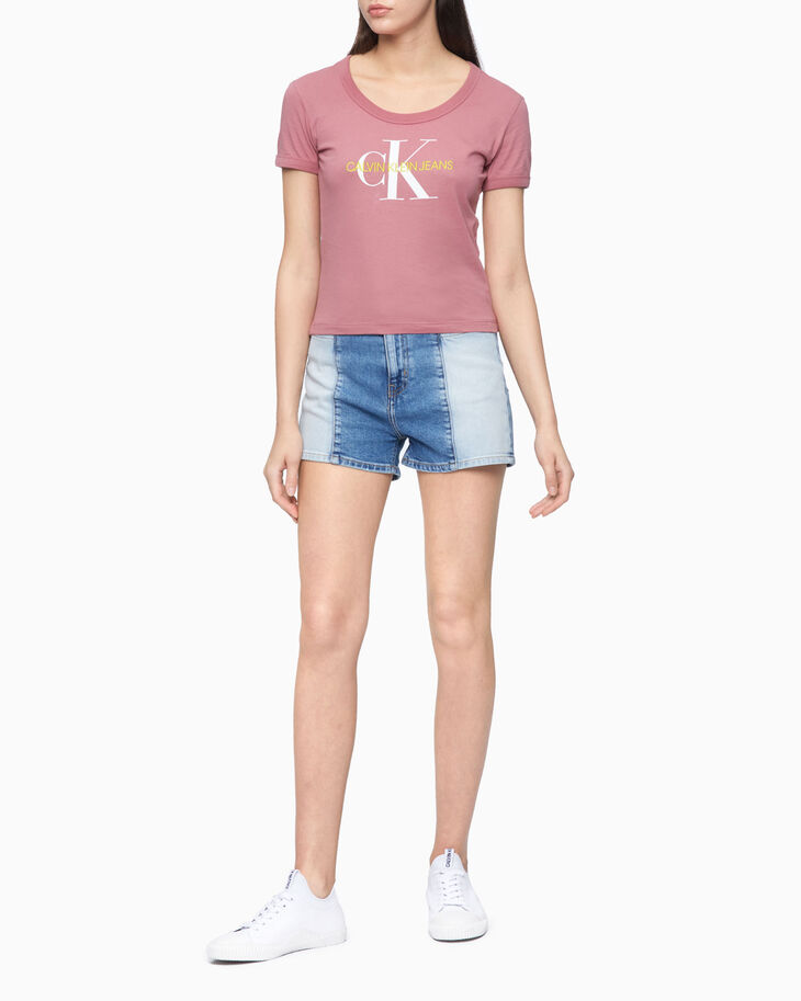 CALVIN KLEIN SUSTAINABLE ICONS MONOGRAM TEE