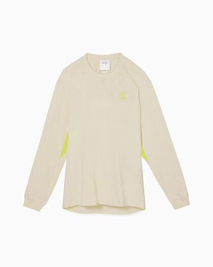 CALVIN KLEIN OK LOGO REBALANCED 롱 슬리브 티셔츠