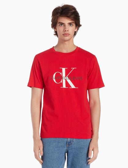 CALVIN KLEIN MONOGRAM LOGO 티셔츠
