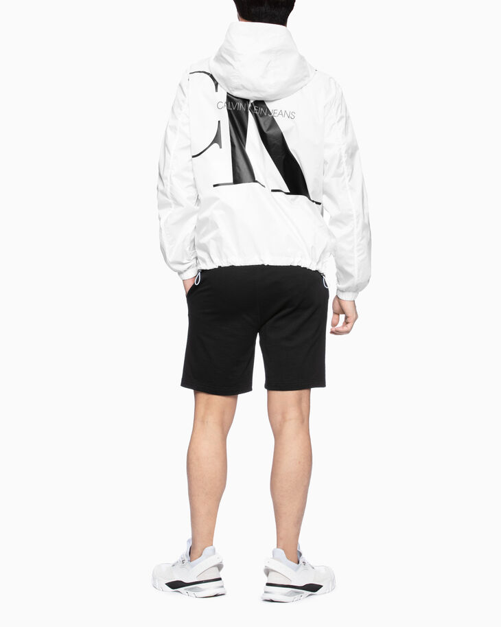 CALVIN KLEIN MONOGRAM SWEAT SHORTS