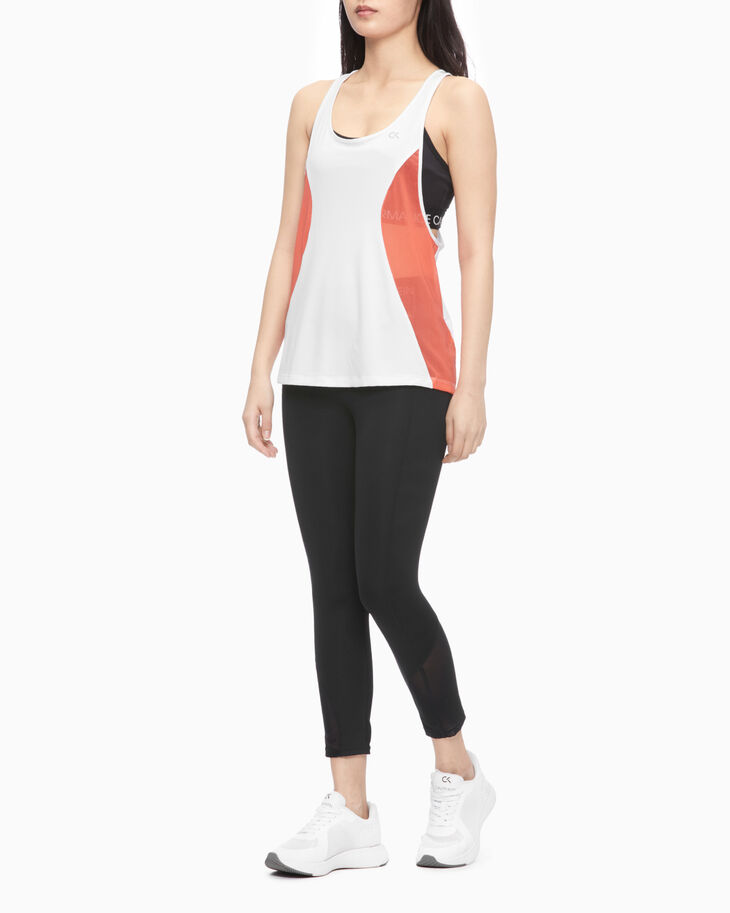 CALVIN KLEIN PERFORMANCE ICON CROSSBACK TANK TOP