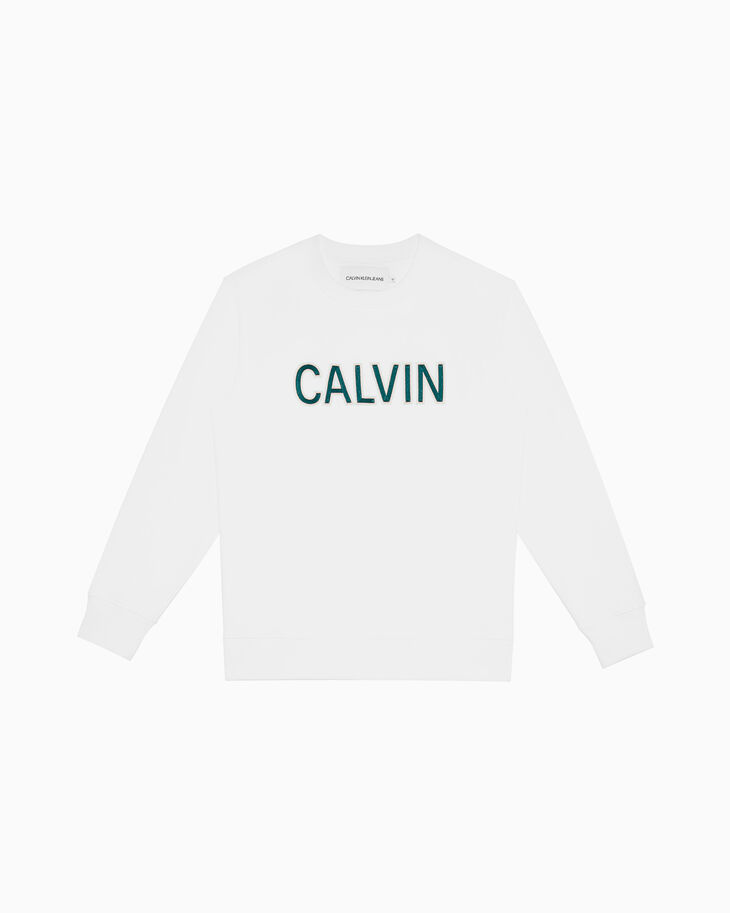CALVIN KLEIN CALVIN LOGO 스웨트셔츠