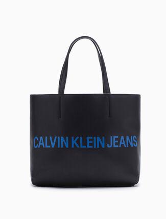 CALVIN KLEIN Logo Tote Bag