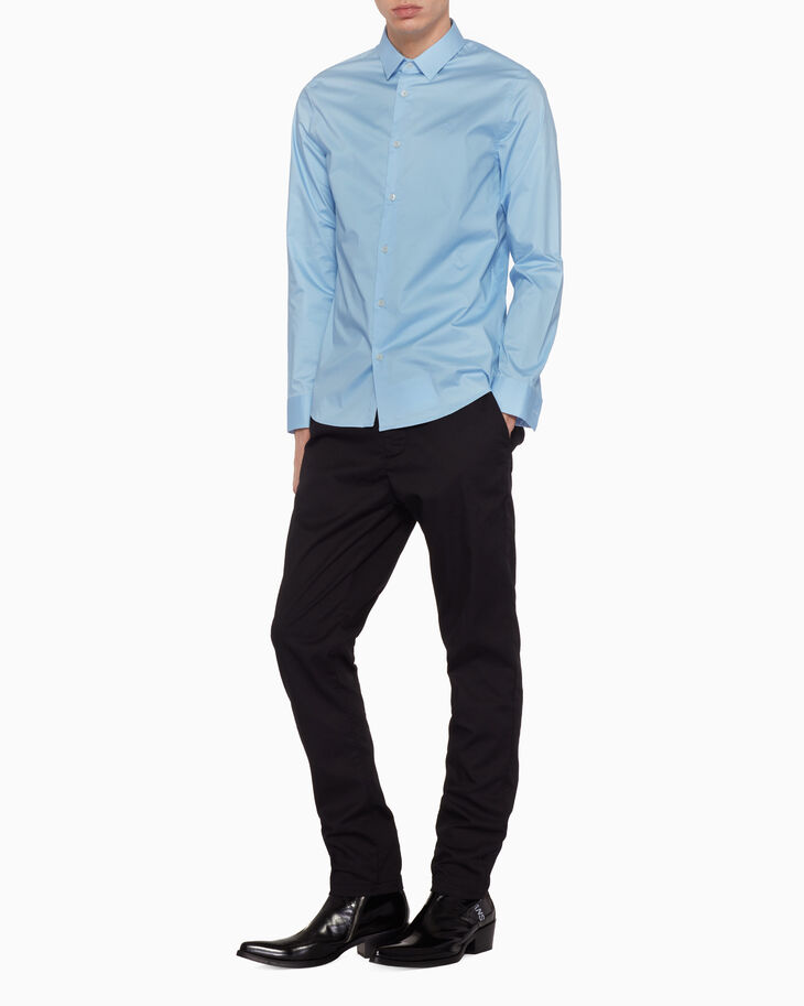 CALVIN KLEIN SLIM LONG SLEEVE SHIRT