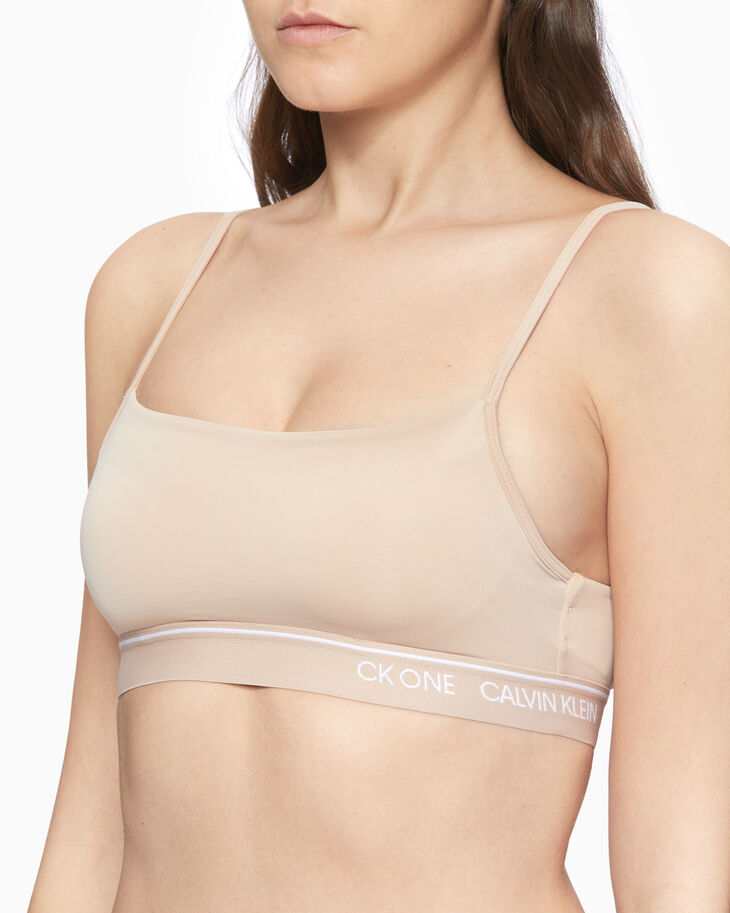 CALVIN KLEIN MICRO LIGHTLY LINED BRALETTE
