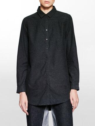 CALVIN KLEIN ウェリティチュニックシャツ