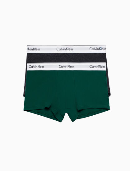 CALVIN KLEIN MODERN COTTON STRETCH トランクス 2パック