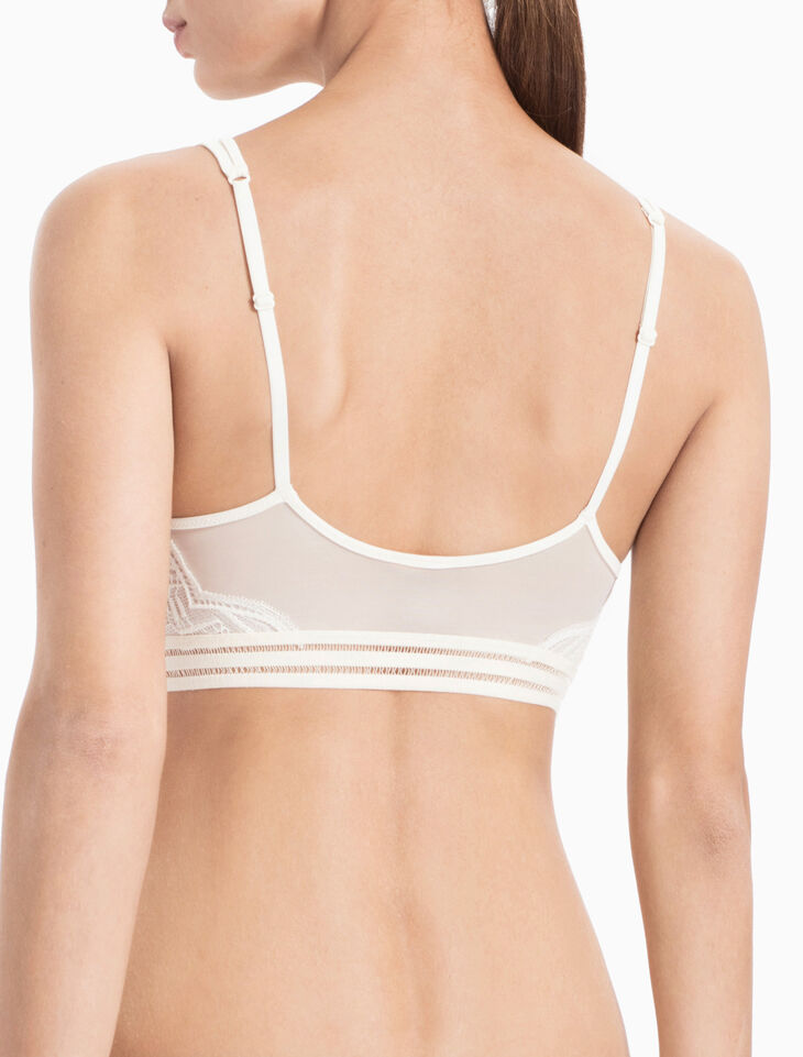 CALVIN KLEIN PERFECTLY FIT SLIPCOVER LIGHTLY LINED BRALETTE