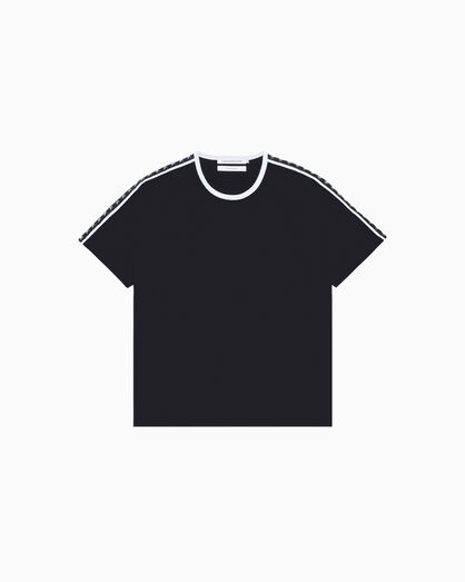CALVIN KLEIN MONOGRAM LOGO TAPE SHORT SLEEVE TEE