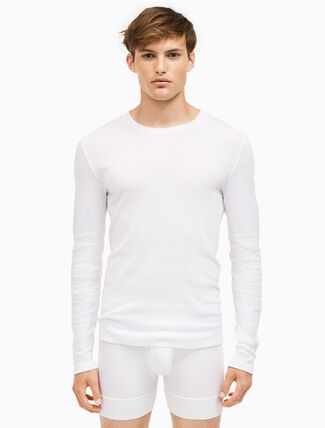 CALVIN KLEIN 205W39NYC 3-pack crewneck long sleeve shirts