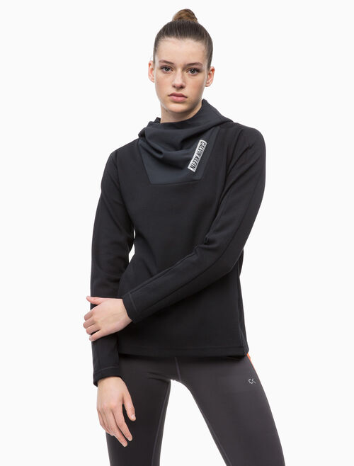 CALVIN KLEIN TECH HOODED SWEATSHIRT