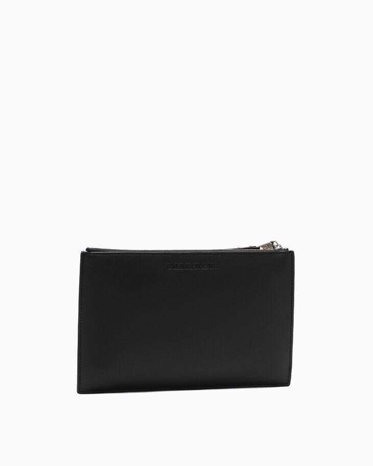 CALVIN KLEIN SCULPTED LOCK SNAP POUCH