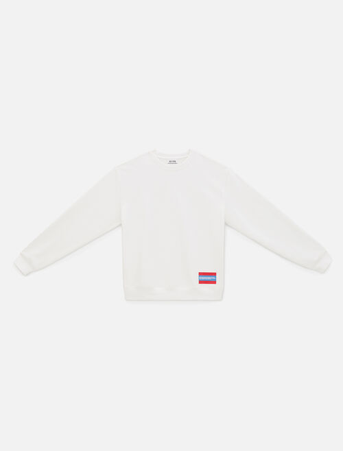 CALVIN KLEIN EST 1978 SMALL PATCH CREWNECK SWEATSHIRT