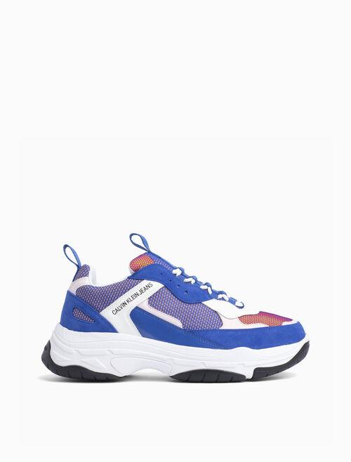 CALVIN KLEIN 皮革運動鞋