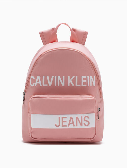 CALVIN KLEIN GIRLS PRINT CAMPUS BACKPACK
