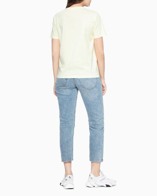 CALVIN KLEIN STUDDED LOGO 티셔츠